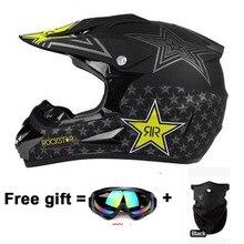 Llegan nuevos capacetes casco de moto para hombre casco aprobado por el DOT Casco de motocross ATV dirt bike racing capacete motocicleta