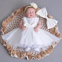 Little Baby Girl Baptism Dresses Newborn Infant First Birthday Flower Princess Dress Costumes For Toddler Christening Party Wear