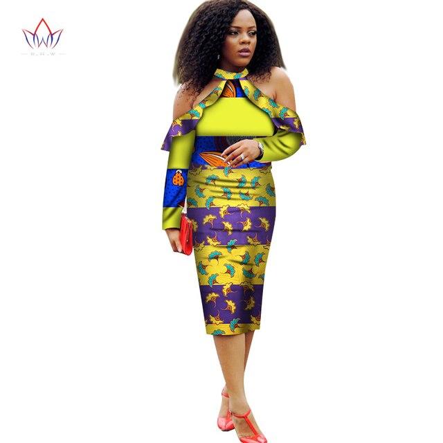 Robes Africain Femmes Robes 2018 Nouvelle Mode de L\u0027épaule Vêtements  Africain Dashiki Plus La