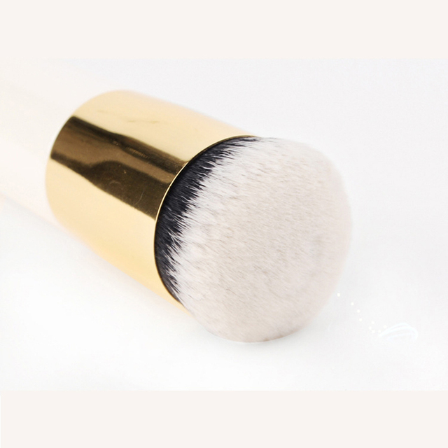New Chubby Pier Foundation Brush Flat Cream Makeup Brushes Professional  6