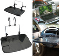 100% Brand New Black Color Car Auto Laptop Tablet PC For iPad Mount Stand Holder Desk Table Drink Food Cup Tray
