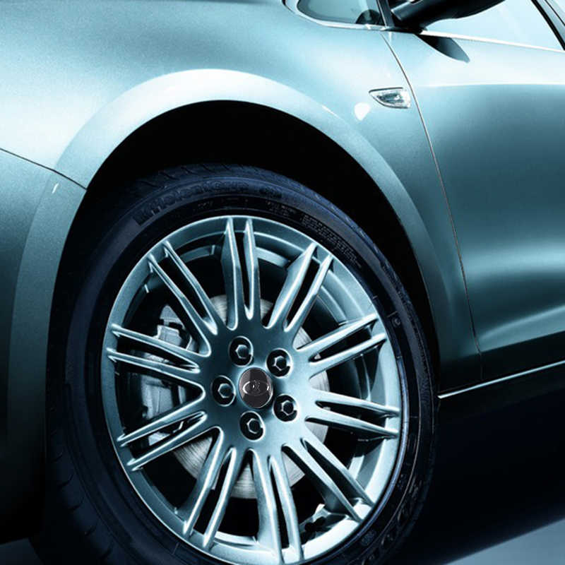 Voiture style 4 pièces roue Center moyeu capuchon autocollants 56mm emblème pour Lada Niva Kalina Priora Granta Largus Vaz Samara accessoires Auto