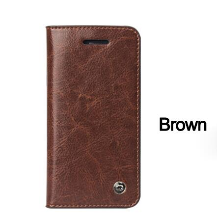 I5 Ip5 QIALINO Genuine Leather Phone Case Bags For Iphone 5S 5 SE Card Slot Holder Wallt Case For Iphone 5 SE 5S Purse Cover