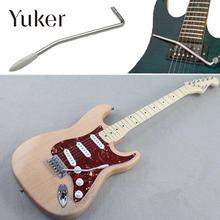 Yuker Electric Guitar Rocker Tremolo Silver Parts Music Tools Instruments Single Shake