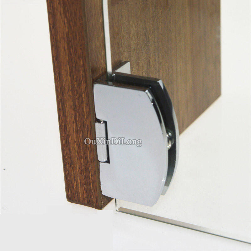 Online buy wholesale glass door hinge from china glass for Glass cabinet hinges