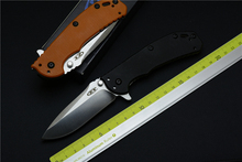 OEM	Zt0566  ball bearing folding knife D2 blade G10 handle camping hunting outdoor tool