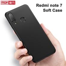 Xiaomi redmi note 7 case cover silicone soft tpu MOFi matteblack back note7 matte protective