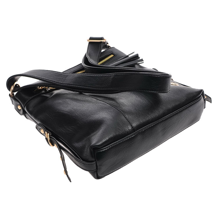 Hot 2015 nuevo bolso de mensajero con flecos de cuero genuino bolsos - Bolsos - foto 3