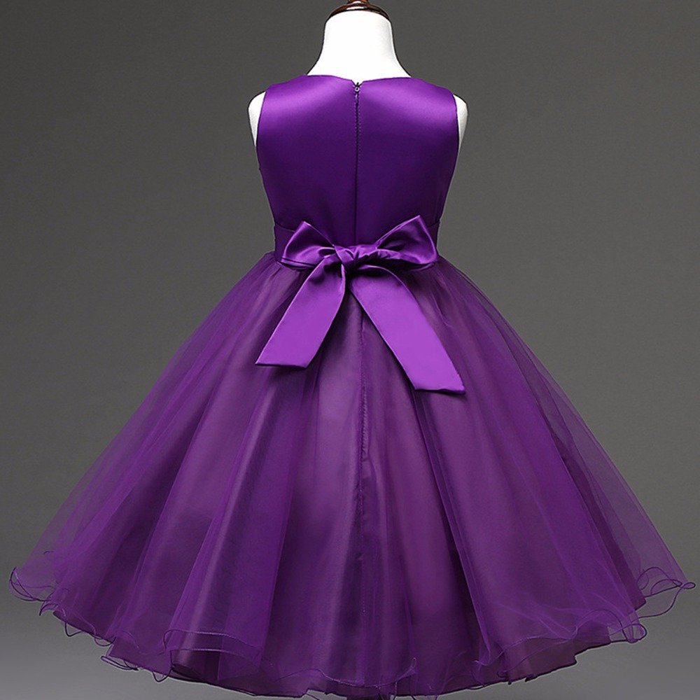 2016 Girl Princess Dress Summer Formal Party Occasion Baby Girl ...