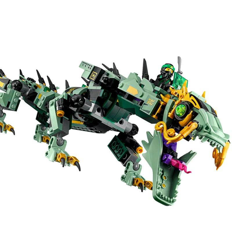 574 ชิ้น 2018 Mecha Dragon Compatibie Legoings Building Blocks ชุดของเล่นเพื่อการศึกษา DIY เด็กวันเกิดคริสต์มาสของขวัญ-ใน ชุดการสร้างโมเดล จาก ของเล่นและงานอดิเรก บน   2