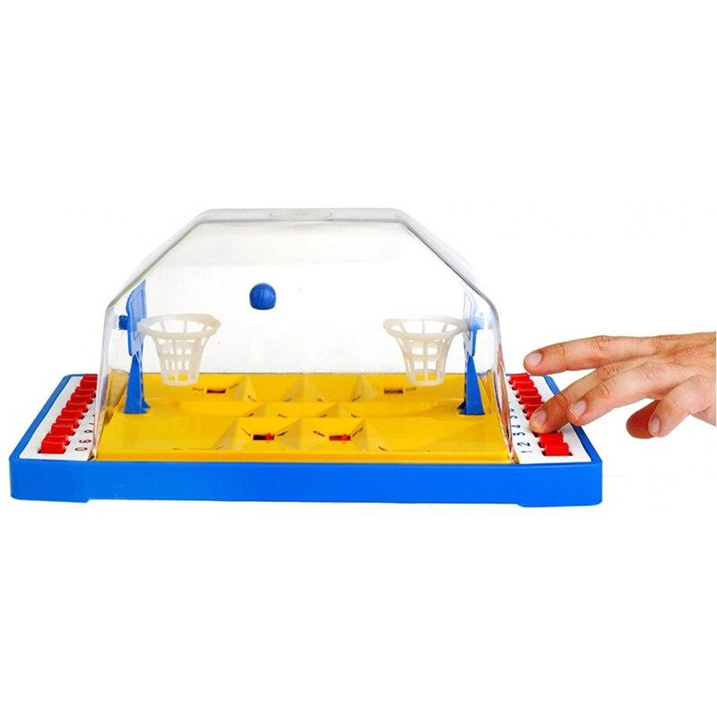 Backetball tafel board mini game desktop Interactieve voor twee Hoop Speelgoed Grappig Vinger Sport Schieten Party - 3