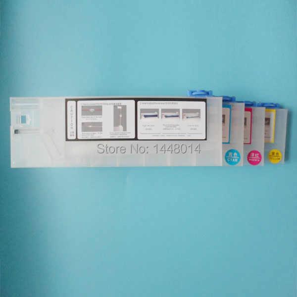 Wide Format Printer Plastik Tinta Cartridge 220 Ml untuk Roland SP/VP/XC/SJ 540/640 /740 Mimaki JV33 JV5 Mutoh VJ 1604 1624
