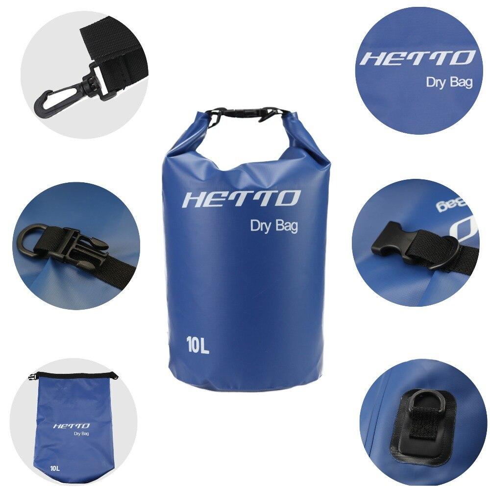 Купить с кэшбэком 10L 20L Durable Waterproof Dry Bag Swimming Diving Rafting River Trekking Storage bag Ultralight Jungle Camping