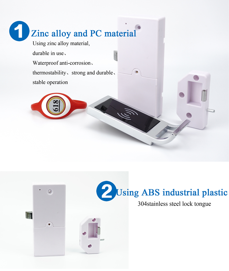 Waterproof Office Private Drawer RFID Card  Locker Magnetic Lock For Cabinets