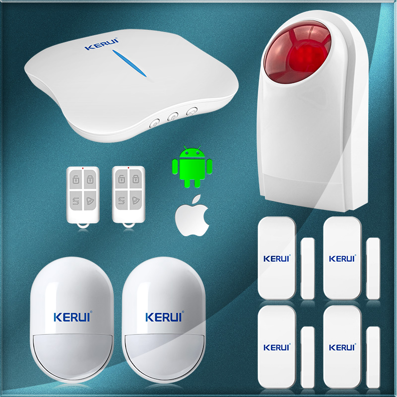 W1 WiFi PSTN Security Alarm System super font b safe b font anti theft for home