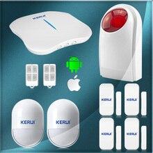 W1 WiFi PSTN Sistema de Alarma de Seguridad super seguro antirrobo para el hogar villa Oficina tienda de la tienda de sistema de alarma de seguridad