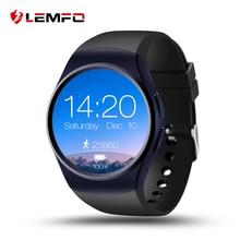 Lemfo lf18 Смарт часы-телефон Поддержка sim-карта TF сердечного ритма Мониторы часы