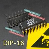 Livraison gratuite 10 PCS/lot TDA1023 1023 DIP 16 nouvelle bonne qualité|dip| |  -