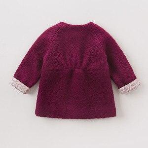 Image 3 - DB5513 dave bella herfst baby baby meisjes mode effen kleding kids peuter kleding lolvely kinderen hoge kwaliteit jas