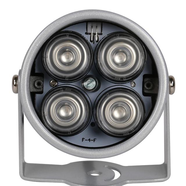 AZISHN CCTV LEDS 4 array IR led illuminator Light IR Infrared waterproof Night Vision CCTV Fill Light For CCTV Camera ip camera