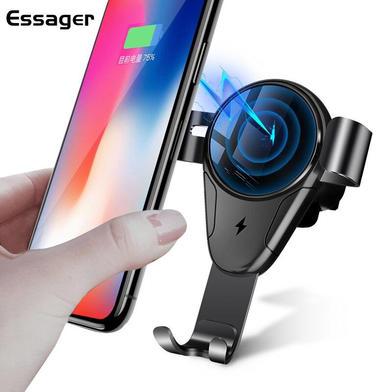 Aliexpress.com : Buy Essager 10W Car Mount Qi Wireless ...