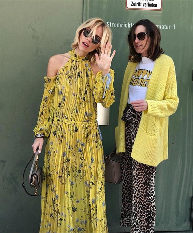 2018 New arrive Floral Print  women dress