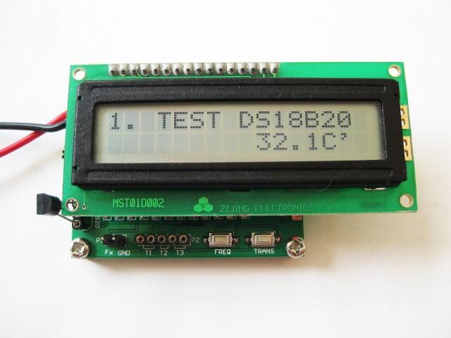 Spedizione Gratuita! misuratore di frequenza + transistor tester + termometro + ESR + induttanzaSpedizione Gratuita! misuratore di frequenza + transistor tester + termometro + ESR + induttanza