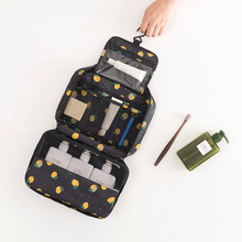 Hanging Travel Cosmetic Bag Women Zipper Make Up Bag Oxford High Capacity Makeup Case Organizer Storage Wash Bath Bag недорого
