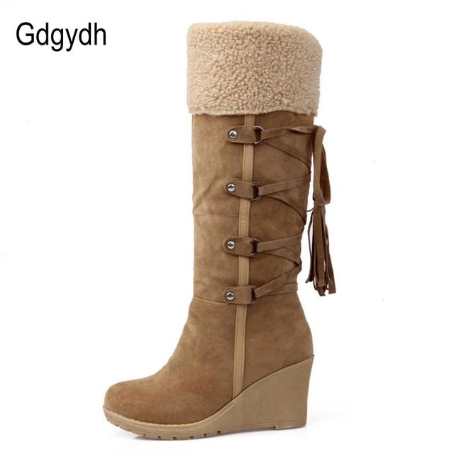 Tassel Snow Women Boots