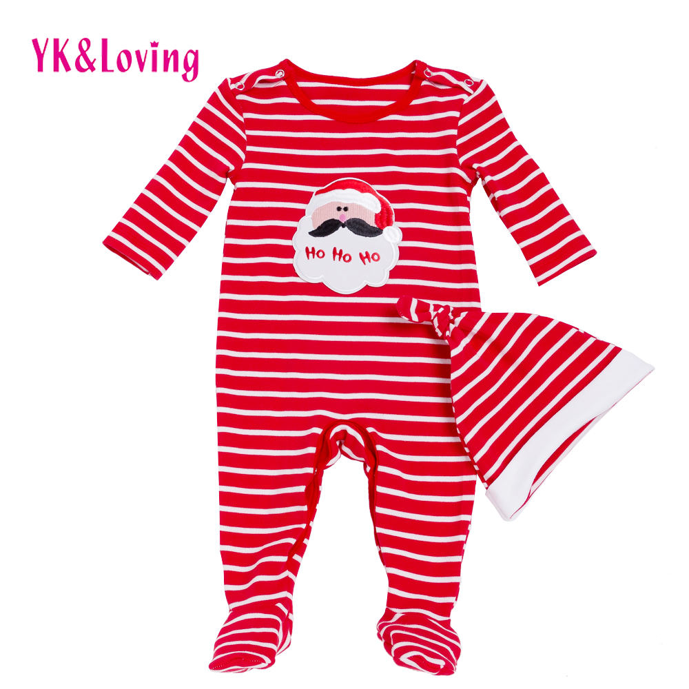Long Sleeve Baby Christmas Romper for Girls & Boys 2017 New Chic Xmas Baby Clothing Fashion Cheap Newborn Clothes Good Gifts puseky 2017 infant romper baby boys girls jumpsuit newborn bebe clothing hooded toddler baby clothes cute panda romper costumes