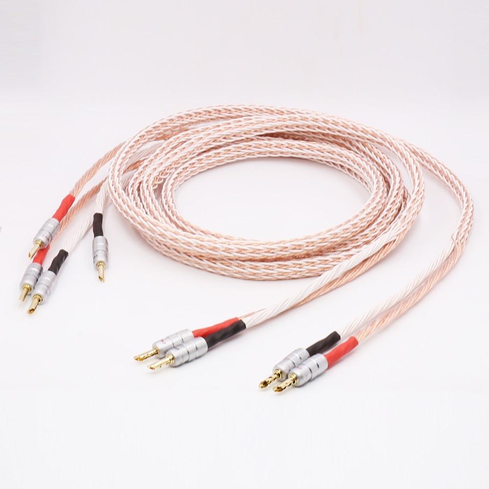 Haut parleur 12TC haut parleur fil Hifi câble de haut parleur CMC BFA plaqué or Jack banane on AliExpress - 11.11_Double 11_Singles' Day 1