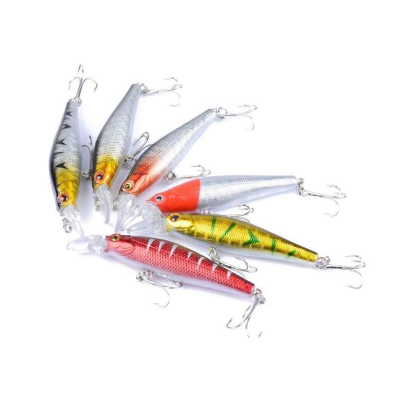 1ชิ้นล่อตกปลา6 #ตะขอ1.2-1.8เมตรดำน้ำลึก8.4กรัม8.5เซนติเมตรC Rankเหยื่อทะเลสาบตกปลาแม่น้ำWobblersปลาคาร์พเหยื่อตกปลา