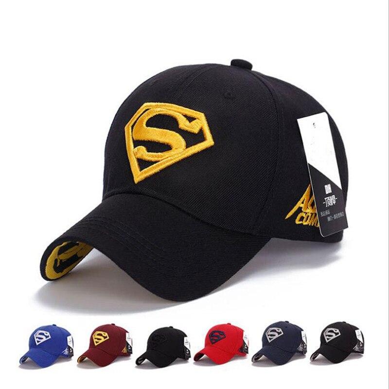 Clearance SaleHats Superman Baseball-Cap Snapback Golf-Hat Spring Sports Women Summer And Unisex Outdoorè