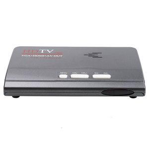 Image 4 - Kebidumei nova quente digital terrestre dvb t/t2 caixa de tv + controle remoto vga av cvbs sintonizador receptor hd 1080 p vga DVB T2 caixa de tv