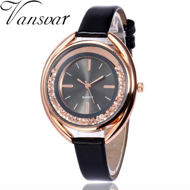 Luxury Bracelet Watches Fashion Quartz Wristwatches Desktop Clock Women Vintage