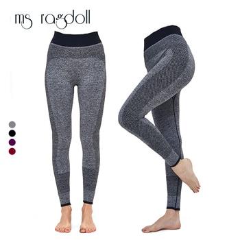 Gym Wanita Yoga Pakaian Olahraga Celana Legging Celana Ketat Latihan Olahraga Kebugaran Latihan dan Pakaian Menjalankan Pelatihan Hiking Legging
