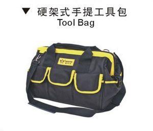 BESTIR taiwan a fait une excellente qualité oxford PVC grande taille 45*25*32 cm cadre rigide grande bouche outil sac, NO 05133 dans Armoires à outils de Outils