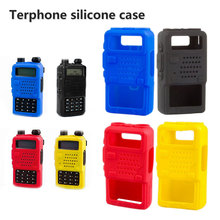 Soft Case Silicone Handheld Cover Shell Holster for Baofeng Two Way Mobile Radio UV5R 5RA 5RB 5RC 5RD TYT THF8 4 Colors Optional