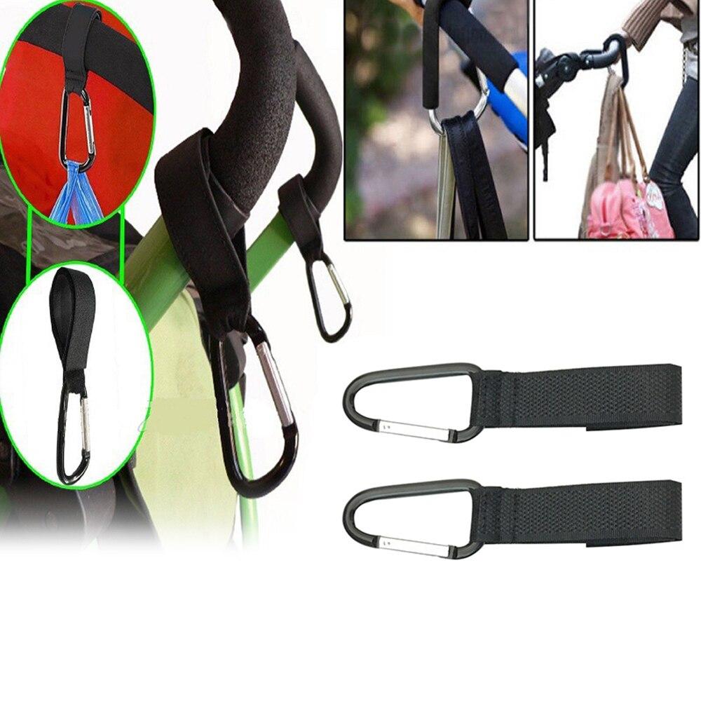 1pcs Durable Baby Stroller Hooks Wheelchair Stroller Pram Carriage Bag Hanger Hook Shopping Bag Clip Stroller Accessories