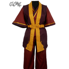 цена на Avatar The Last Airbender Prince Zuko Cosplay Costume Anime Custom Made Uniform
