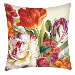 Image 2 - Print Pillowcase Polyester Sofa Car Cushion Cover Home Decor 45X45cm Throw Pillowcases Pillow Covers Home Decor Dropshipping
