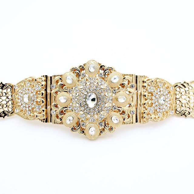 Aliexpresscom Buy New Royal Round Crystal Waist Chain Decorative
