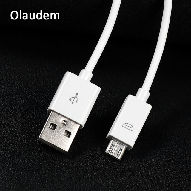 Olaudem Cable Micro USB TPE Android Wire For Charging USB Cable Android For Samsung Xiaomi Huawei 1M Phone Data Cables USBC208