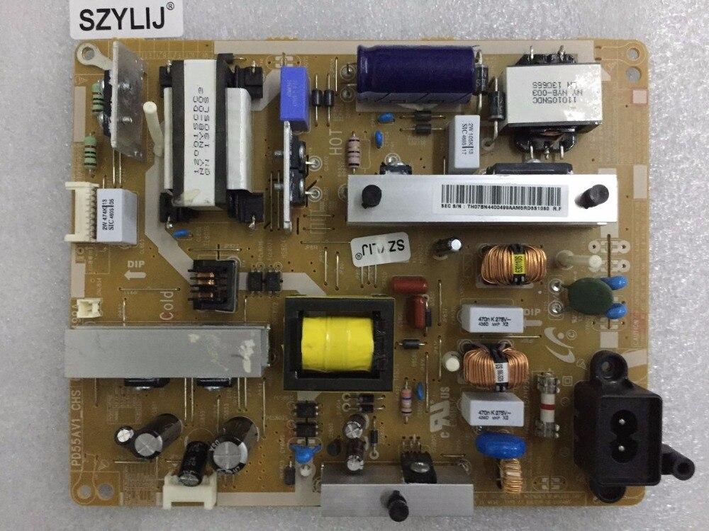 SZYLIJ livraison gratuite 1 pcs/lot 100% nouveau Original UA55EH6000R alimentation REV: 1.2 PD55AV1_CHS BN44 00499A-in Puissance Supplys from Electronique    1