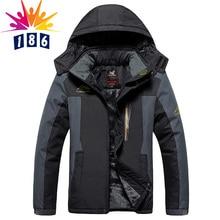 Neue winter big meter Plus dicke samt männer mantel jacke männer Wind und wasserdicht casual warme jacke größe L-4XL5XL6XL7XL8XL9XL
