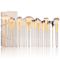 Pro 24 12pcs Set Makeup Brushes Cosmtic Set Kit Powder Foundation Eyeshadow Eyeliner For Lip Brush