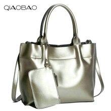 QIAOBAO Echtes Leder-einkaufstasche Mit Hoher Kapazität Umhängetasche Luxus Handtaschenfrauen-designer Praktische Frauen Taschen Dame Tote