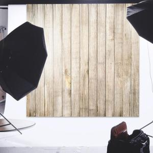 Image 5 - 60x60cm Retro Wood Board Texture Photography Background Backdrop Cloth Studio Video Photo Backgrounds Props For Food