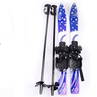 Snowflake Pattern Snowboard Board 65cm*6cm Winter Sledge for Children Outdoor Skiing