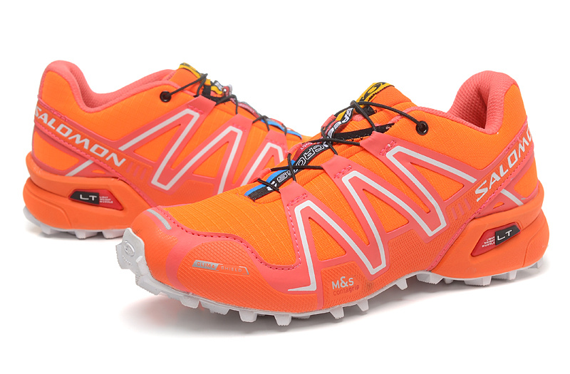 50128ed7 US $36.93 41% OFF|Salomon Speed Cross 3 CS Comfortable Orange Running Shoes  Women cross fit Sneakers New Design Athletic Shoes Discount Sale-in ...